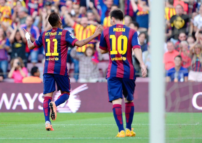 Barcelona x Granada - Neymar (Foto: AFP)