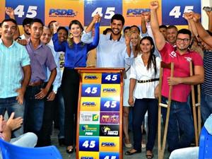 Pré candidato do PSDB para prefeitura de Rio Branco foi anunciado na manhã desta segunda (15) (Foto: Divulgação/PSDB-AC)