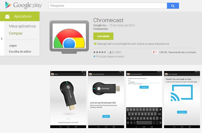 Baixe o aplicativo no Play ou App Store (Foto: Thiago Barros/TechTudo)