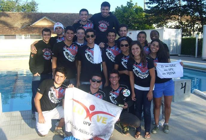 Natação UFV (Foto: Gustavo Ramos/Arquivo Pessoal)