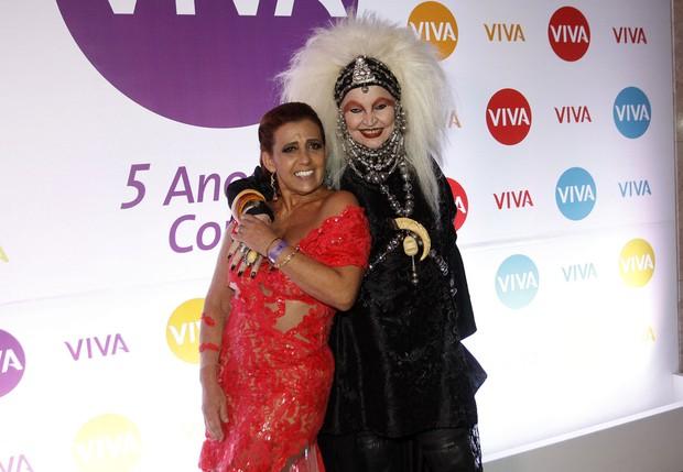 Rita Cadillac e Elke Maravilha (Foto: Celso Tavares / EGO)