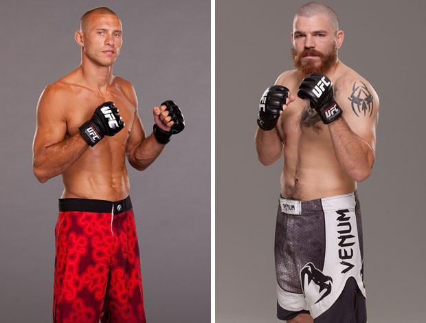 MONTAGEM MMA Donald Cerrone e Jim Miller (Foto: Agência Getty Images)