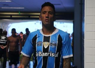 Lucas barrios Grêmio (Foto: Eduardo Moura/GloboEsporte.com)