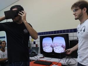 Alexandre Tolstenko destaca aplicativos voltados para área de saúde (Foto: Catarina Costa/G1)