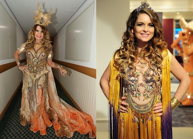 Elba Ramalho é comparada à Chayenne, de Cheias de Charme (Foto: Celso Tavares / EGO - Alex Carvalho / Globo)