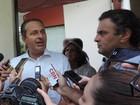 Eduardo Campos e Aécio Neves se reúnem no Recife