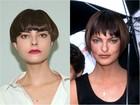 Modelo radicaliza visual para mostrar semelhança com Linda Evangelista