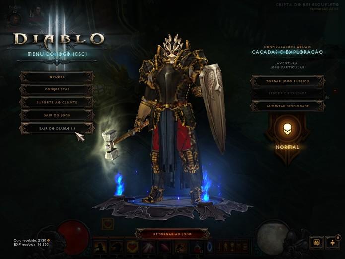 Com uma interface reformulada, um personagem novo e um capítulo extra, Diablo 3: Reaper of Souls é uma ótima expansão (Foto: Reprodução/Daniel Ribeiro)