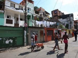 Segundo moradores, houve redução no índice de violência no bairro (Foto: Elói Corrêa/GOVBA)