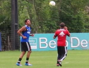 Hernane Treino Flamengo (Foto: Thales Soares)
