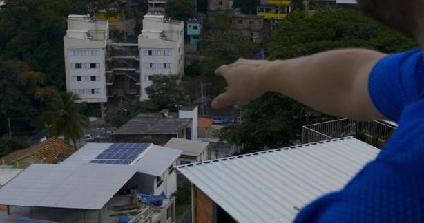Segundo belga, o projeto na Babilônia servirá de piloto para outras comunidades no Brasil.  (Foto: BBC)