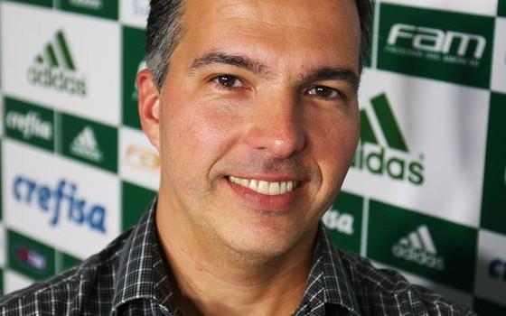 Roberto Trinas, diretor de marketing do Palmeiras (Foto: Divulgação)
