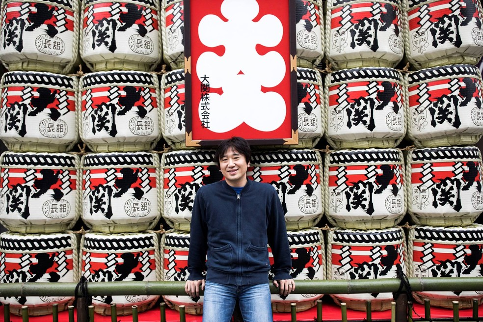 Shigetaka Kurita rabiscou 176 símbolos rudimentares no papel (Foto: Behrouz Mehri/AFP)