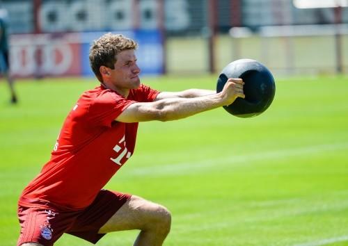 Foto (Foto: Thomas Müller disse não ter qualquer interesse em deixar o clube - Matthias Merz/AP)