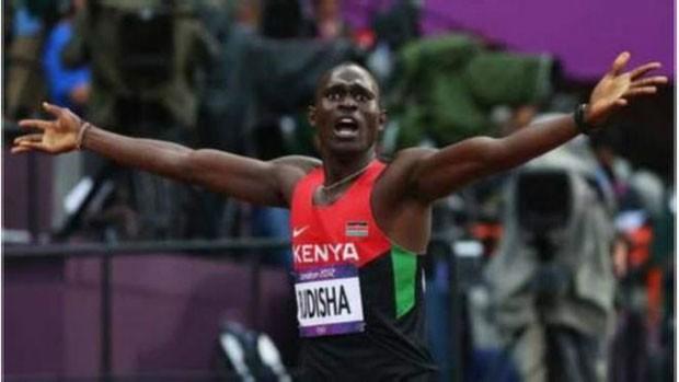 Se o Quênia decidir não ir aos jogos, David Rudisha não participará dos 800m. (Foto: BBC)