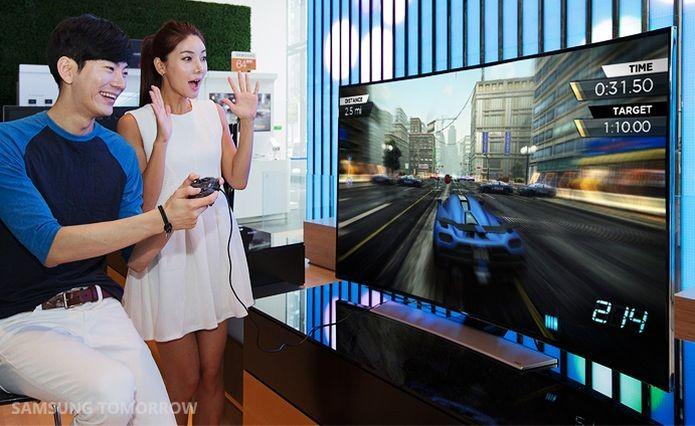 EA dribla o mercado de consoles com seu game para as TVs da Samsung (Foto: Reprodução/Samsung Tomorrow)