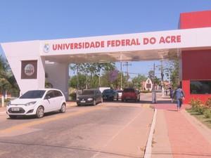 Ufac (Foto: Reprodução/Rede Amazônica Acre)