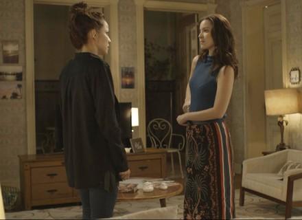 Júlia coloca Lorena contra a parede: 'Eu descobri que você é cúmplice do Alex'