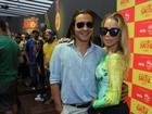 É muito amor! Casais torcem pela seleção brasileira de futebol no Rio