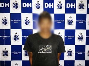 Jovem de 20 anos é preso em Vitória da COnquista suspeito de matar 6 pessoas. (Foto: Divulgação/ Polícia Civil)