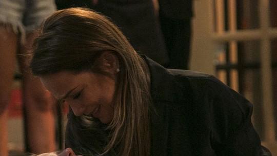 Morte de Sofia agita público de 'Totalmente Demais'! Veja cliques dos bastidores da gravação