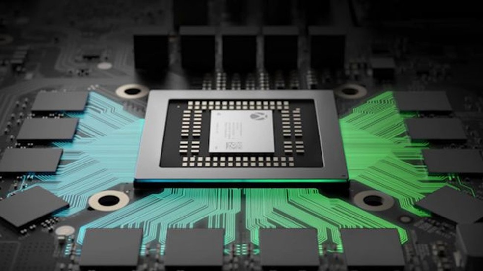 Especificações técnicas do Xbox One X impressionam com grande poder (Foto: Divulgação/Microsoft)