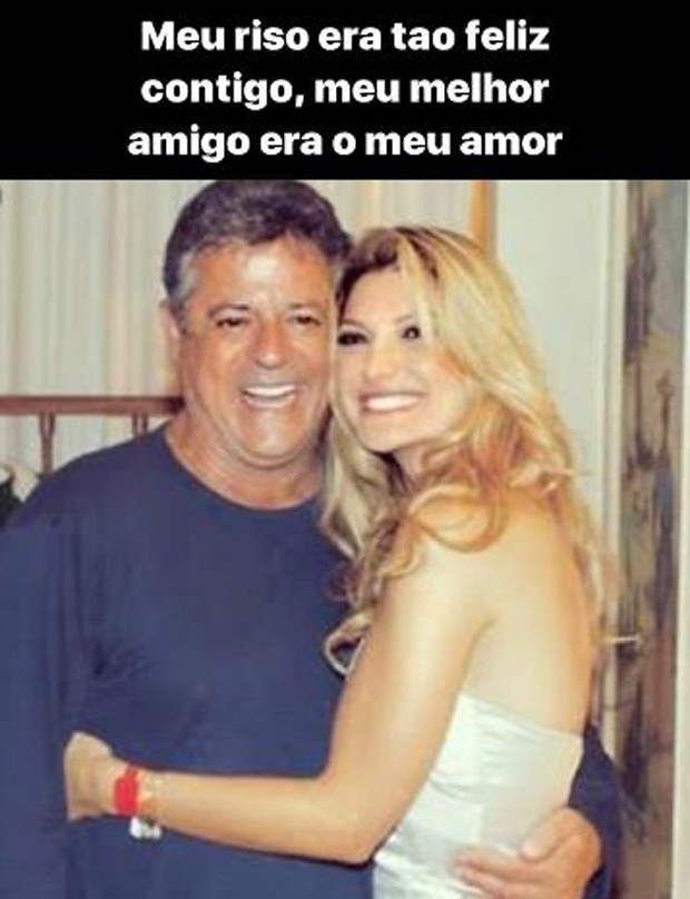Post de Antônia Fontenelle em homenagem a Marcos Paulo (Foto: Reprodução/Instagram)
