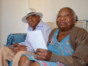 Casal comemora 70 anos de casados em Campinas (Foto: Priscilla Geremias/ G1)