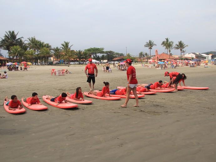 euatleta projeto surf e praia para todos (Foto: Divulgação)