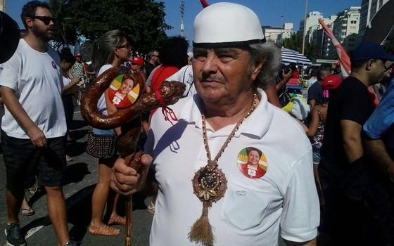 Manifestação contra o impeachment no Rio de Janeiro (Foto: ÉPOCA)