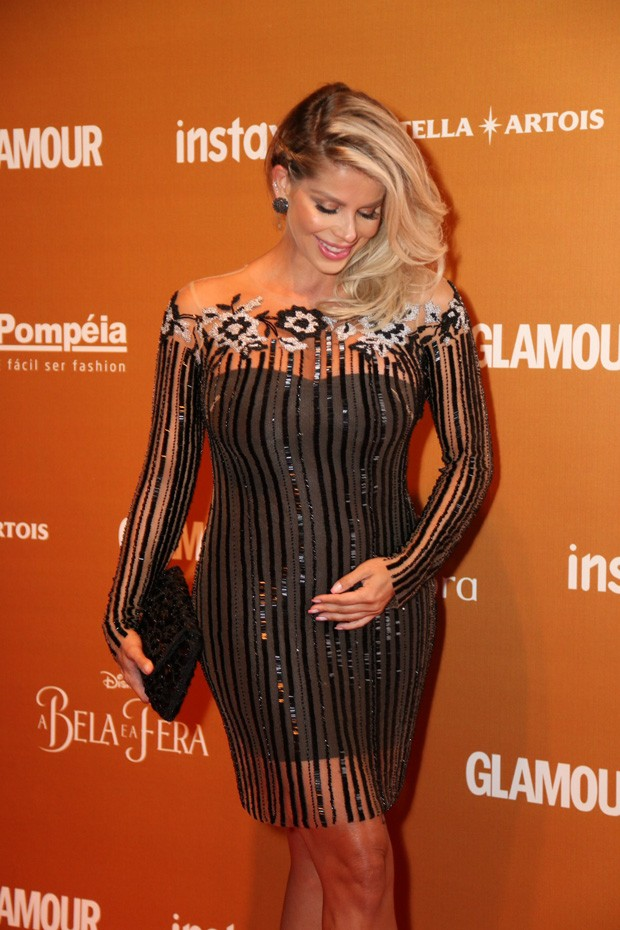 Karina Bacchi no Prmio Gerao Glamour (Foto: Eduardo Viana)