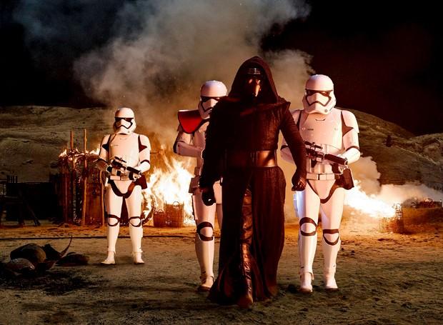 Cena de 'Star Wars - O Despertar da Força' (Foto: Divulgação)