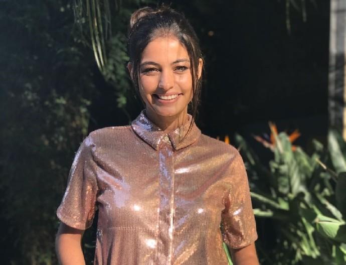 Cynthia Senek estreou na RPC, em 2009, quando tinha 16 anos (Foto: Divulgação/RPC)