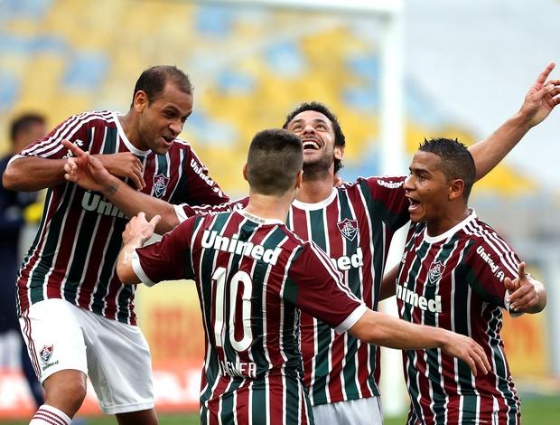Fred, Fluminense x Atletico-pr (Foto: Cezar Loureiro / Agência o Globo)
