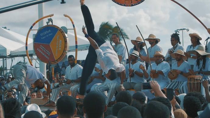 Encontro Mundial de Capoeira foi sediado em Salvador (Foto: TV Bahia)