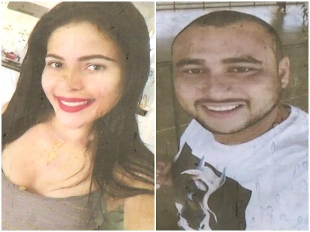 Dallyla Martins e Darlei Silva sumiram há 15 dias, em Santo Antônio do Descoberto, Goiás (Foto: Reprodução/ TV Anhanguera)