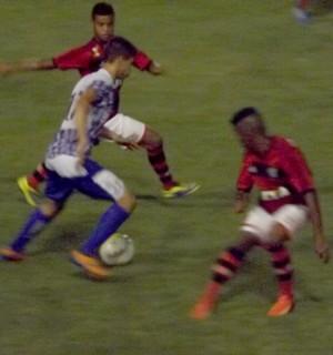 Flamengo x Aquidauanense, em Bauru, pela Copinha-2014 (Foto: Sérgio Pais)