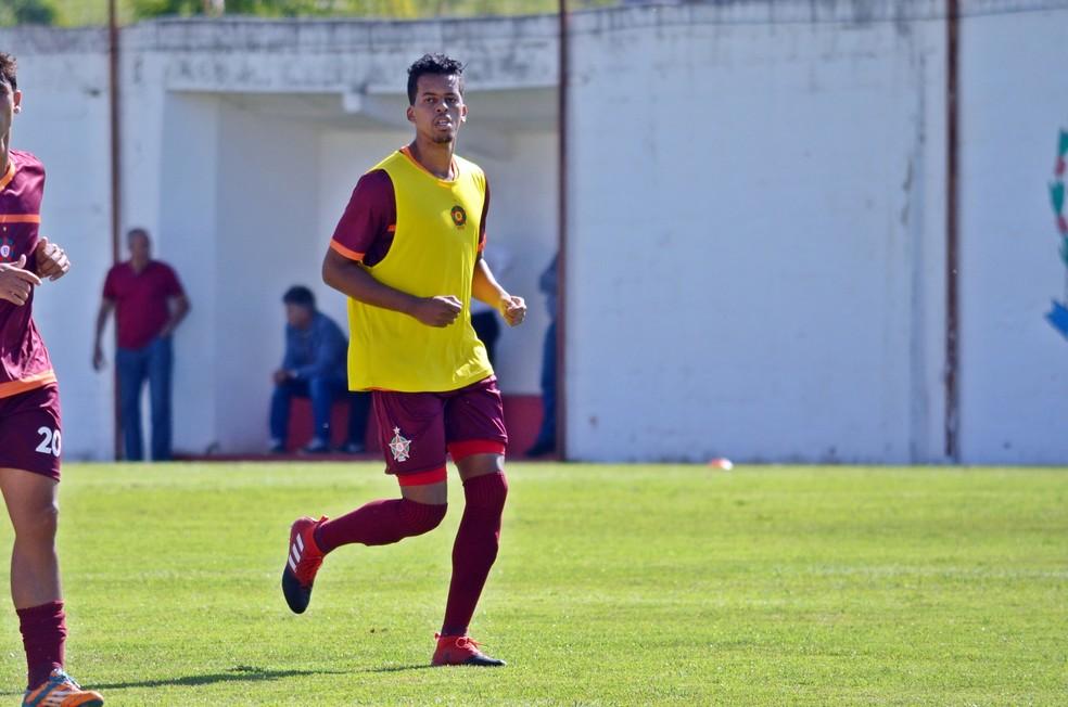 Josué é quem mais atuou com a camisa do Boa Esporte na temporada (Foto: Régis Melo)