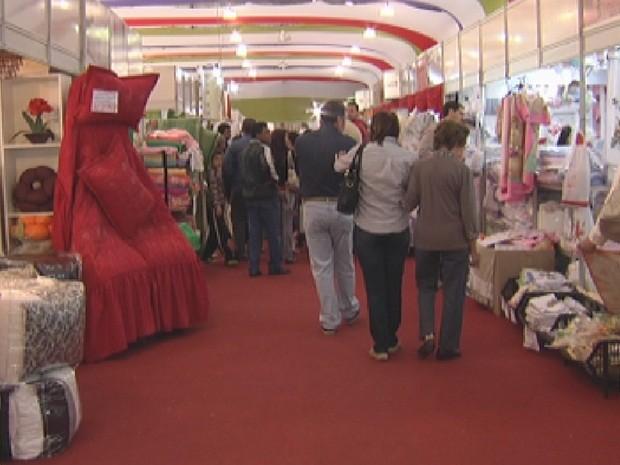 Feira deve movimentar R$ 18 milhões em negócios (Foto: Reprodução/TV TEM)