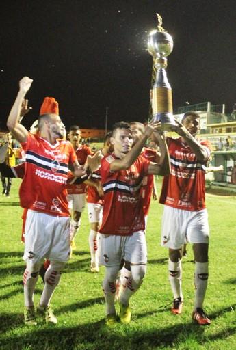 River-PI campeão do primeiro turno do Piauiense (Foto: Josiel Martins)