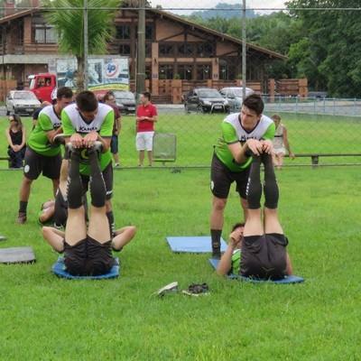 Metropolitano treinamento (Foto: Divulgação/Metropolitano)