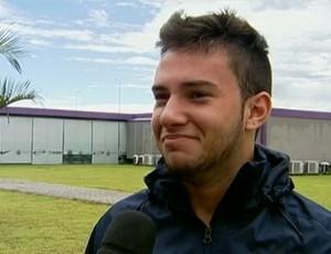 Giovanni é realista quanto ao Mundial: 'Só de estar lá estarei feliz' (Foto: Reprodução SporTV)
