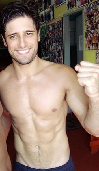 Daniel Rocha, 9kg mais magro (Foto: Reprodução)