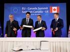 UE e Canadá assinam polêmico acordo comercial