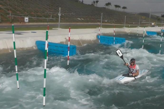 Michal Smolen canoagem slalom Estados Unidos Deodoro (Foto: Divulgação)