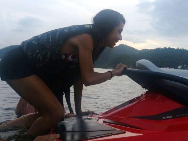 Jovem tinha o sonho de passear de moto aquática (Foto: Arquivo Pessoal)