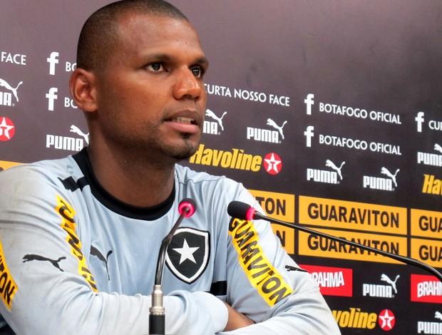 jefferson botafogo coletiva (Foto: Thales Soares / Globoesporte.com)