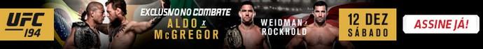 Header banner UFC 194 (Foto: Editoria de Arte)