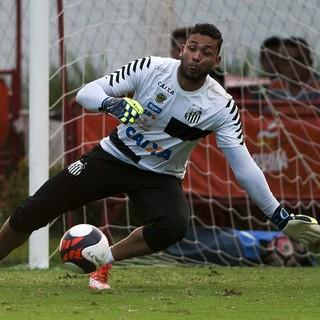 Vladimir - Santos (Foto: Ivan Storti/Santos FC)