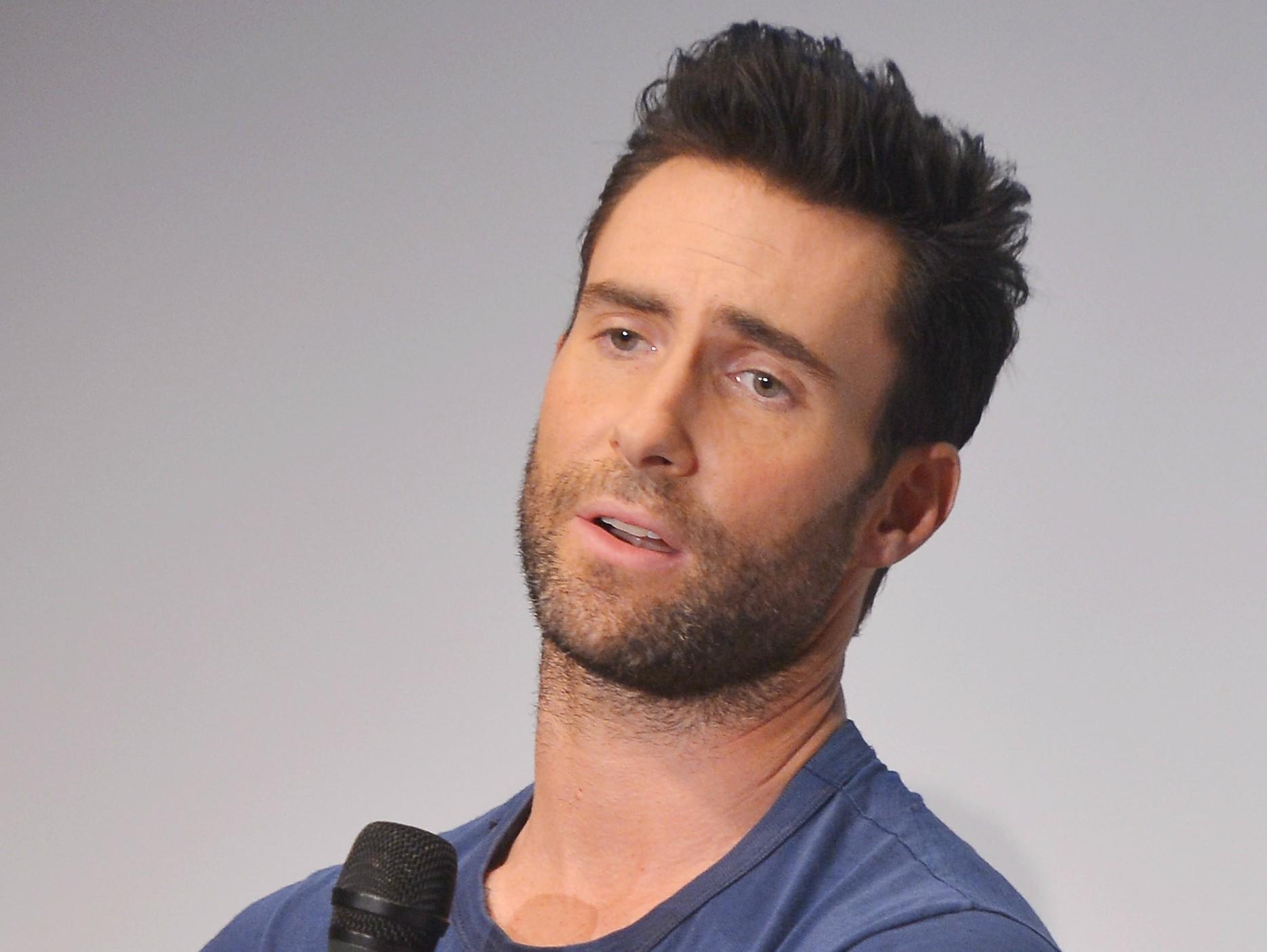"""""""Eu amo atenção. Não posso ficar sem tê-la para mim"""" — Adam Levine, do Maroon 5, à revista 'Details' em 2012. (Foto: Getty Images)"""